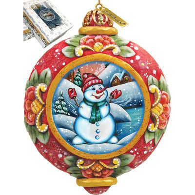 A warm, friendly line of handcrafted holiday and special occasion figurative sculptures, surprise figurines and ornaments. Each piece is a G.DeBrekht original! Features - Comes in a beautiful decorati