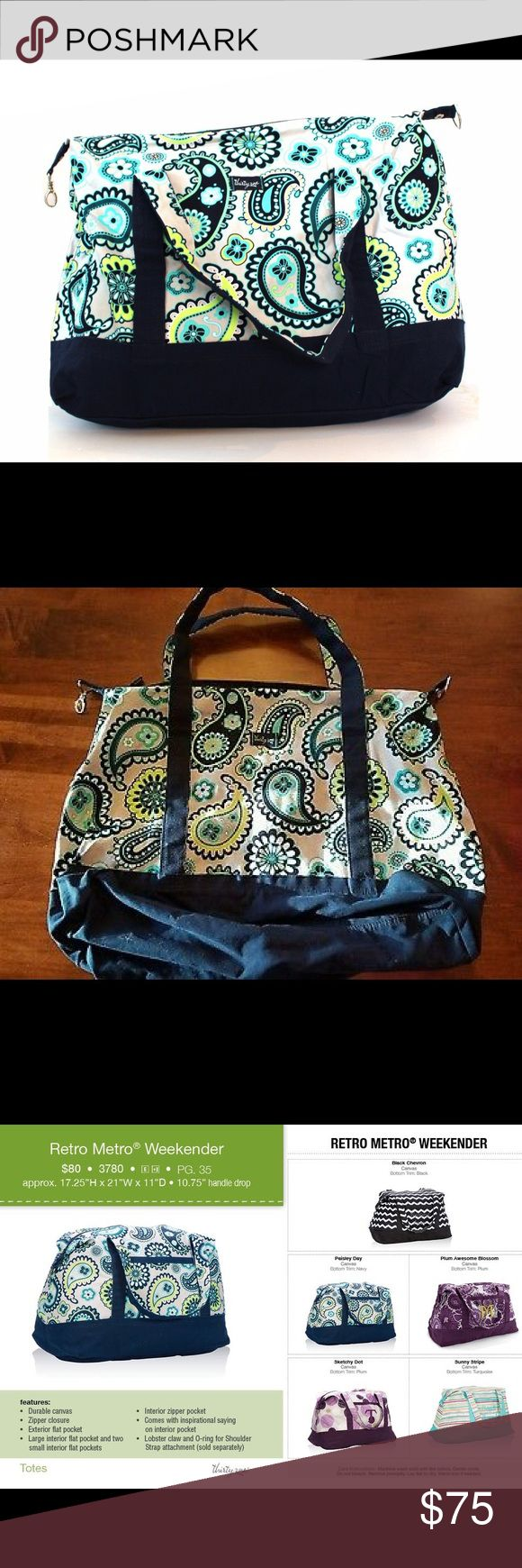 Thirty-One Retro Metro Weekender in Paisley Day Thirty-One Retro Metro Weekender in Paisley Day Thirty-One Bags Travel Bags