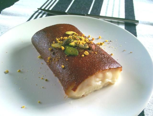 'Kazandibi' is a Turkish classic: a thick, milky pudding with a golden-brown coating of caramelized sugar on the outside. Try it with this recipe.