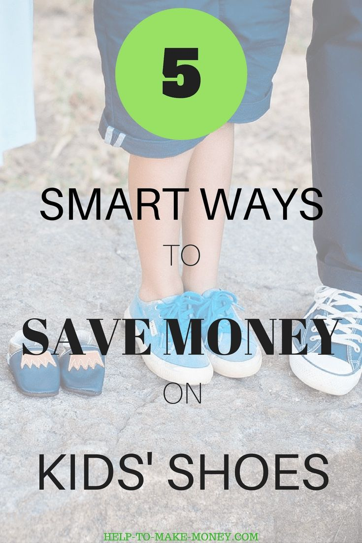 Find out how you can save money when you need to buy new shoes for you baby or toddler. I promise you will be able to get awesome shoes for less money with these 5 smart ways of saving money on kids' shoes. Check it out.