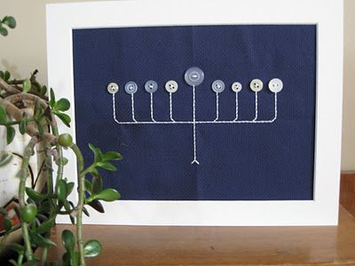 I'm not Jewish, but I just love the simplicity of this piece.
