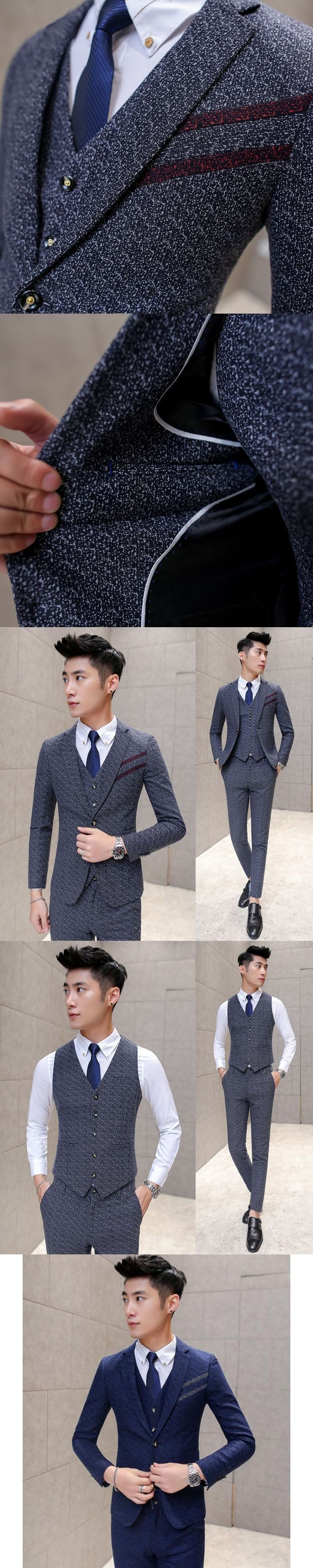 Men business suit mens suits with pants latest coat pant designs tuxedo wedding suits mens 3 piece suit #menweddingsuits #mens3piecesuits #menssuitsbusiness