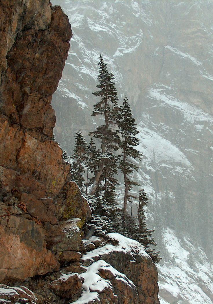 #Timberline Falls, Rocky Mountain National Park, Colorado
