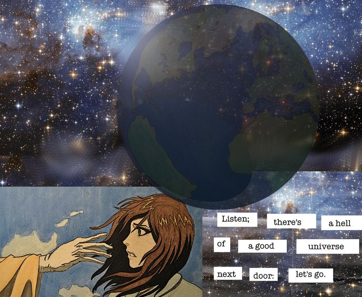 """""""My Universe"""" - Quote from E.E. Cummings"""