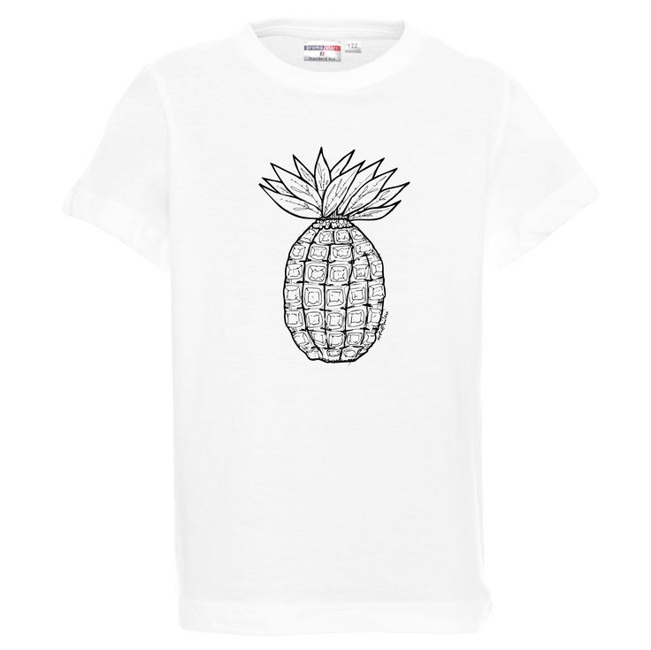 Koszulka dziecięca - ananas