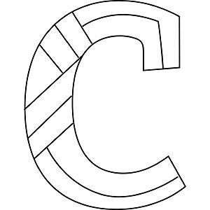 lowercase c coloring page - C Coloring Sheet