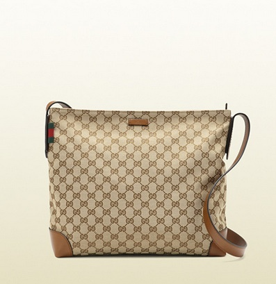 Gucci Original Gg Canvas Messenger Bag