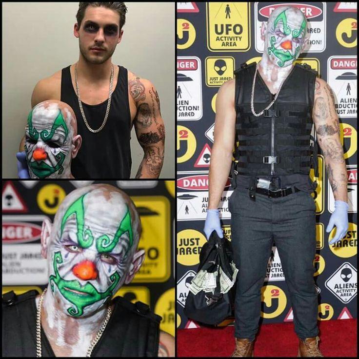 Cody's mask on Halloween...