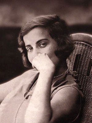 Silvina Ocampo*, argentine writer and philantropist.