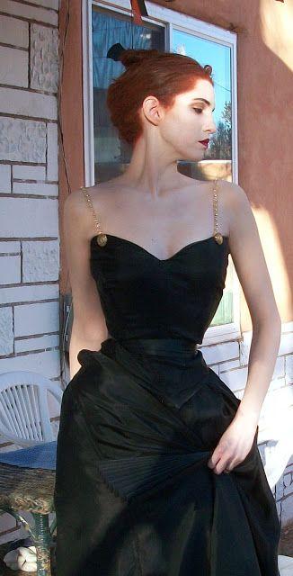 Costume Time! Portrait of Madame X, Part 1 | Beauty Fashion Girl Stylish