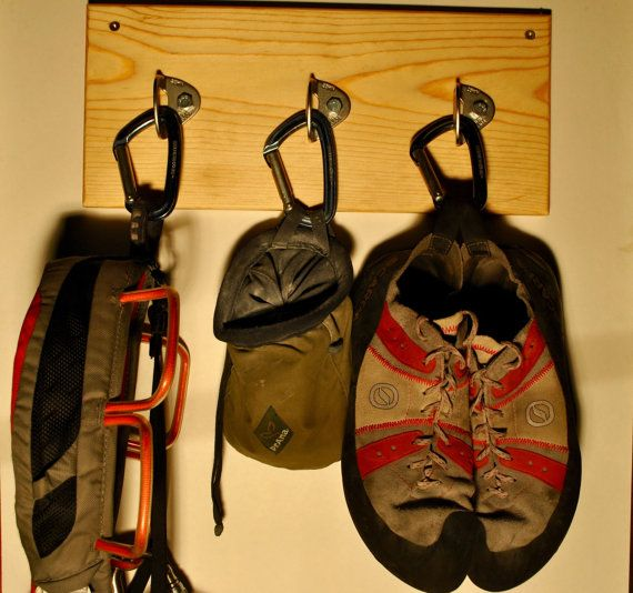 Rock Climbing Gear Rack