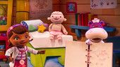 Doc McStuffins, Lambie and Hallie performing at Disney Junior - Live on Stage!