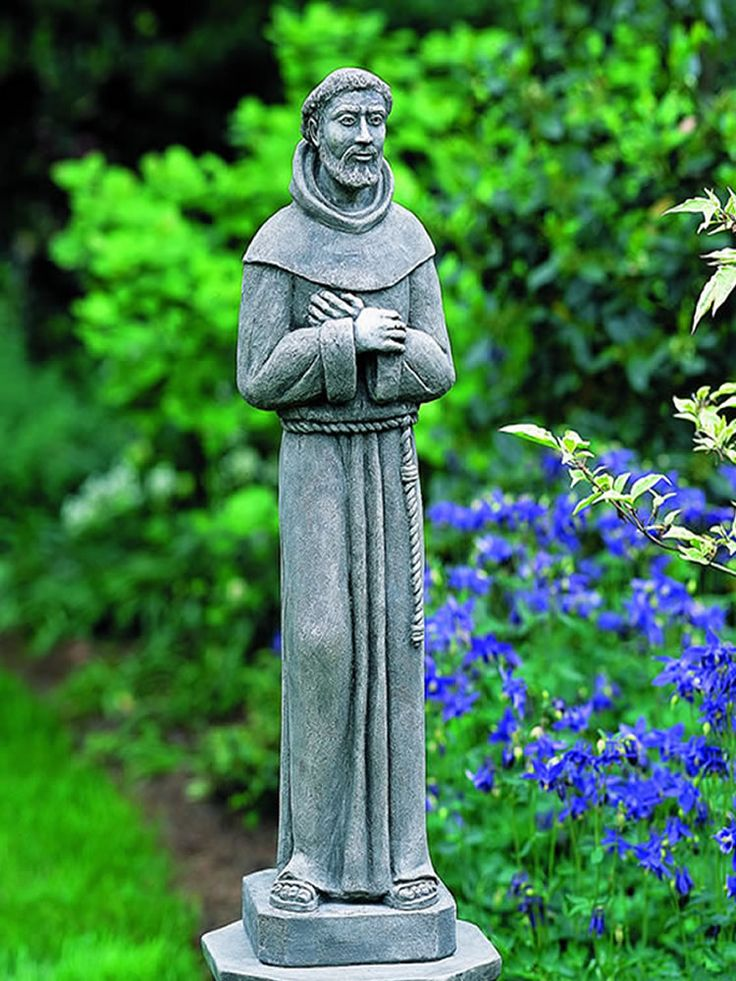 51 Best St Francis Garden Statue Images On Pinterest Saint Francis San Francisco And Garden