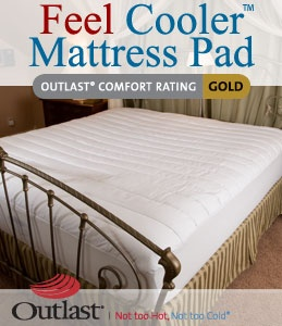 cooling mattress pad. I need this for our memory foam mattress that is too hot for me!