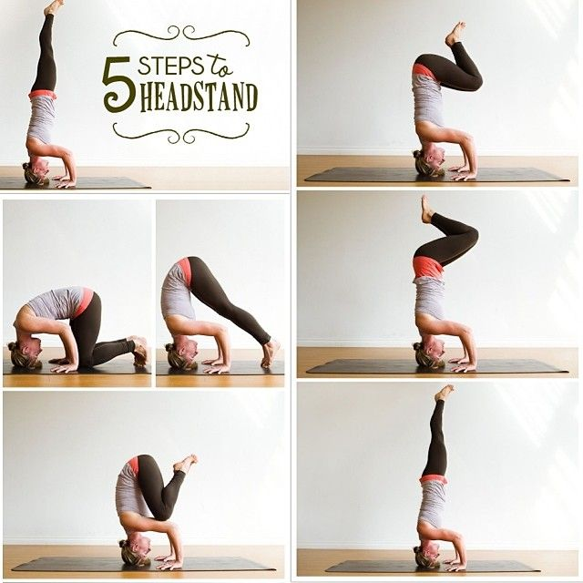 Daily dose of inspiration for yogis. Headstand.
