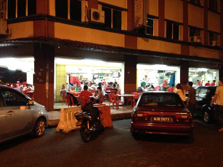 Local restaurants in Kuala Lumpur.  I am looking forward always.