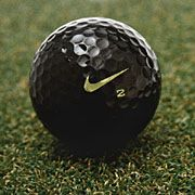 golf balls | The new black golf ball from Nike is garnering more attention than the ...