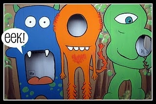 Monster Photo Prop.. for the kids & kids at heart