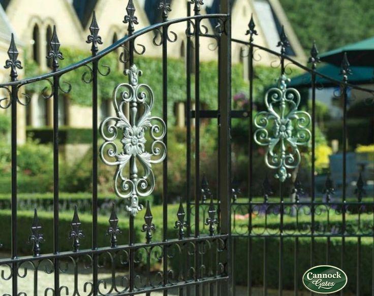 Royal Premier Wrought Iron Estate Gates from Cannock Gates
