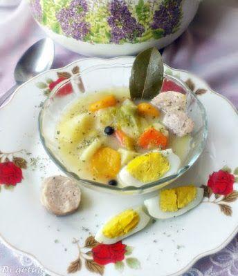 Di gotuje: Barszcz biały (z jajkiem i białą kiełbasą)