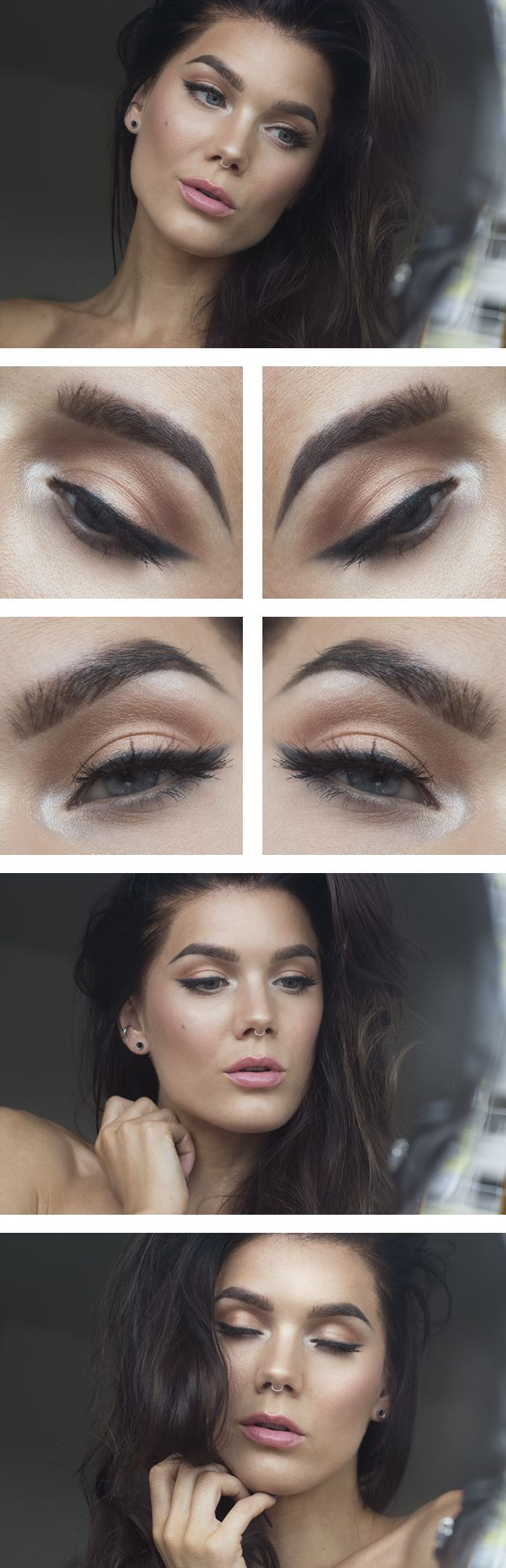 Natural eye shadow NEW Real Techniques brushes makeup -$10 http://youtu.be/1K9DegfjvsI #realtechniques #realtechniquesbrushes #makeup #makeupbrushes #makeupartist #brushcleaning #brushescleaning #brushes