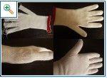 перчатки на 2ф без швов с одновременным провязыванием большого пальца