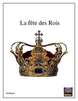 This French festival is often forgotten when teaching about French culture! Sometimes known as Epiphany, la fête des Rois takes place the first Sunday after January 1 each year. This 9 page product includes a vocabulary list of pertinent words about la fête des Rois, and a French description about the festival which can be used as a reading activity or