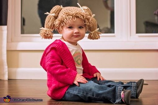 Cabbage Patch Kid - 2013 Halloween Costume Contest via @costumeworks