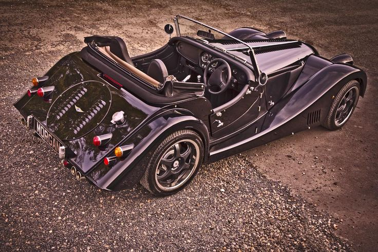 Morgan Plus 8: I think I could get used to the right-hand drive.