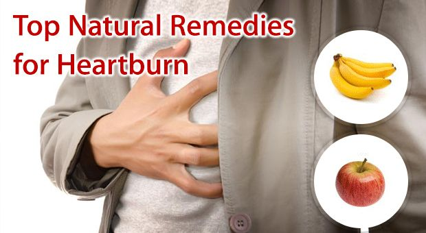 Top Natural Remedies for Heartburn