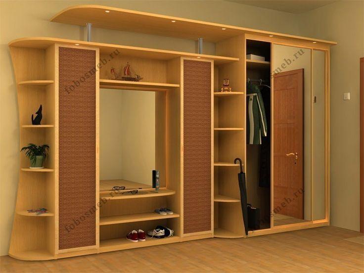 Шкаф-гардеробная в коридоре