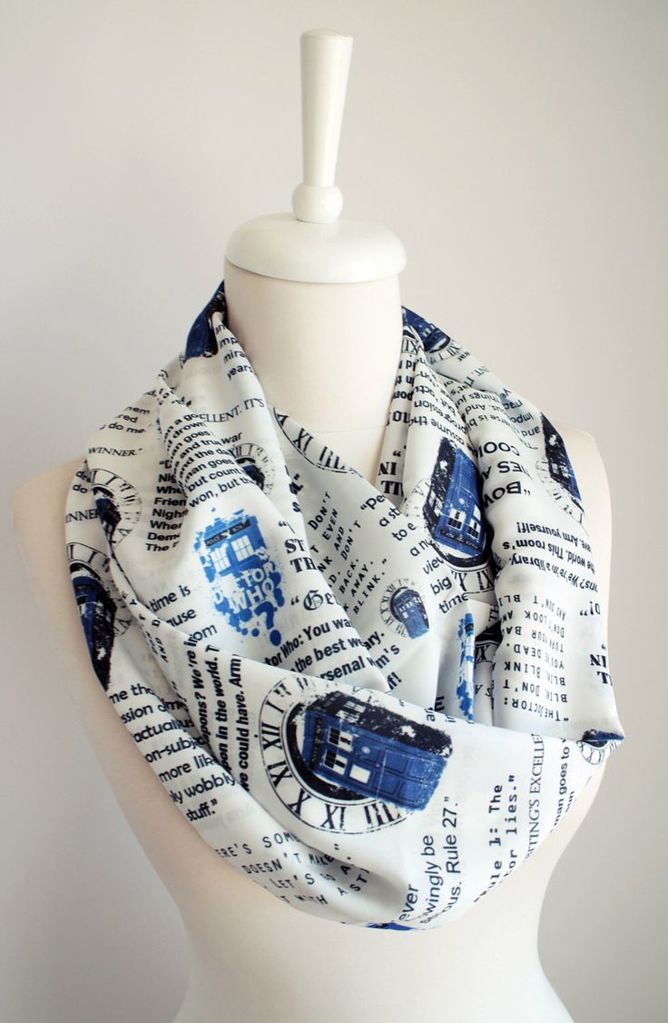 Dr Who Tardis Scarf Doctor Who Scarf Infinity Scarf Geek Gift For Her Wife Fashion Accessories Fall Fashion Doctor Who Gift Dr Who Fan by Aslidesign on Etsy https://www.etsy.com/au/listing/483012378/dr-who-tardis-scarf-doctor-who-scarf---- ok I Need this in my life!