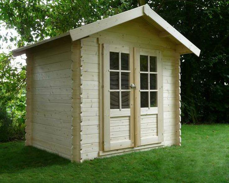 Les 73 meilleures images propos de abris pergolas cabanes outdoor sur pinterest pi ces - Abri de jardin toit plat tek ...