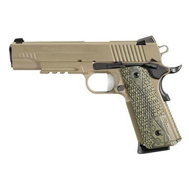 SIG SAUER 1911 Scorpion, Semi-automatic, .45 ACP, 1911R45SCPN, 798681429707