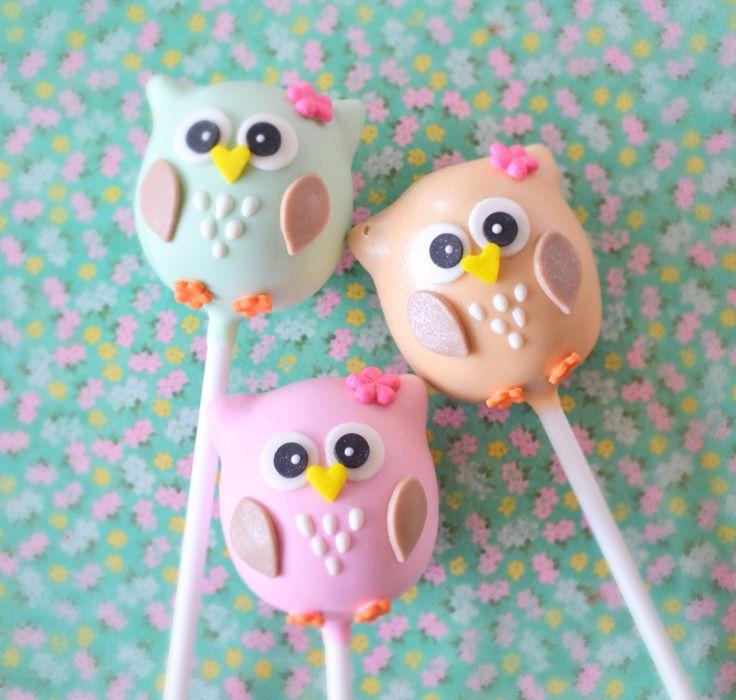 Owl Cake Pops                                                                                                                                                                                 More
