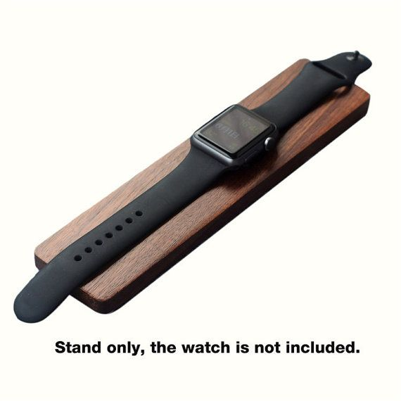 Wooden Watch Charging Dock Stand Holder for Apple by Handwoodwork