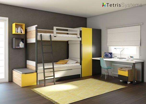 Mejores 71 im genes de literas en pinterest habitaciones - Habitaciones infantiles romanticas ...