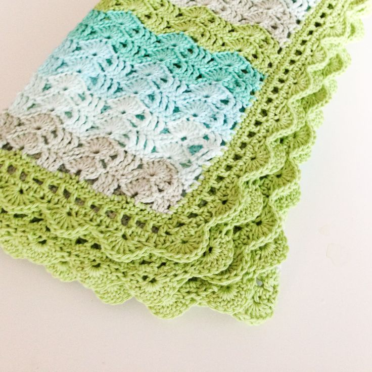 Crochet baby blanket…