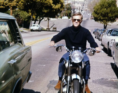 Steve McQueen, Actor: The Great Escape. He was the ultra-cool male film star of the 1960s, and rose from a troubled youth spent in reform schools to being the world's most popular actor. Over 25 years after his untimely death from mesothelioma in 1980, Steve McQueen is still considered hip and cool, and he endures as an icon of popular culture. McQueen was born in Beech Grove, Indiana, to Julia Ann (Crawford) and William Terence McQueen...