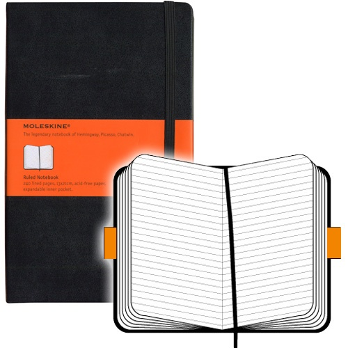 Moleskine Ruled Notebook Large Hardcover. Moleskine.nl