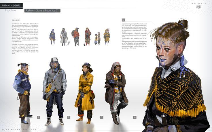 ArtStation - Celsius 13 - Mitani Heights / Fashion, Jan Weßbecher