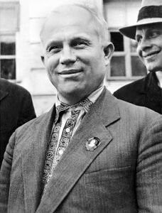 Nikita Khrushchev.Kennedy's nemesis and Yezhov's best friend in the leadership. During Yezhov's tenure in power, Khrushchev worked as the head of the Moscow Party organization, and as such, was closely involved in the investigation of suspects.