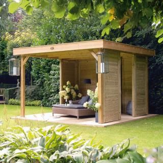 Hillhout Living Module - part of the future for UK garden after summer 2012 washout.