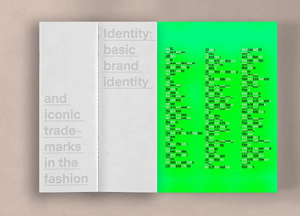 Brand identity in the Fashion – Editorial on Behance