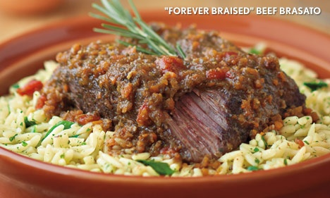 Forever Braised - Beef Brasato  Got a craving for this and I hope to get to Carrabba's THIS weekend!