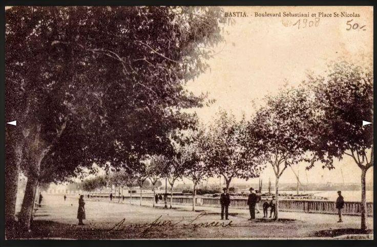 Place Saint Nicolas en 1908.