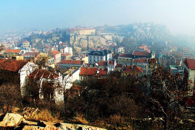 Plovdiv, Bulgaria. Beautiful city.