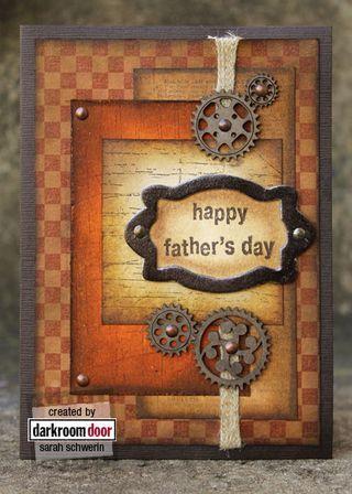 darkroom door card fathers day