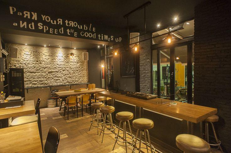 Cadillac records Bar,  Greece, Karditsa  Designer : @panospapadoulis