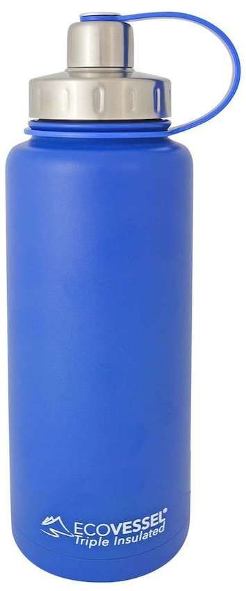 EcoVessel Boulder Triple-Insulated Stainless Steel Water Bottle